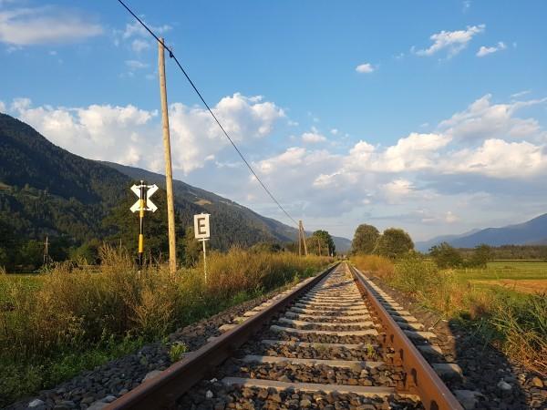 Titelbild Gailtalbahn Strecke