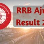 RRB Ajmer Result 2017