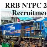 RRB NTPC 2018