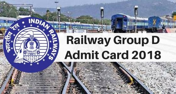 RRB Group D Admit Card 2018 Released for 18th September CBT Exam