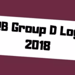 RRB Group D Candidate Login 2018