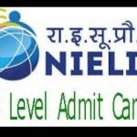 o level admit card