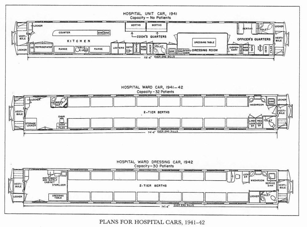 medium resolution of floor plans of hospital cars