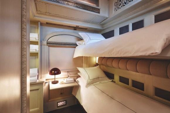 Belmond Andean Explorer bunk beds cabin