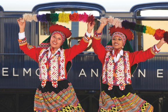 local peru dancers