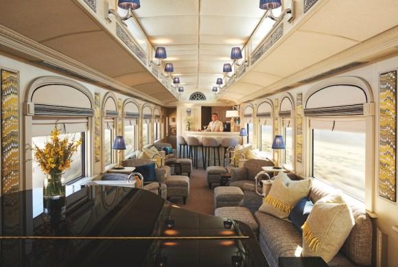 Andean Explorer train bar