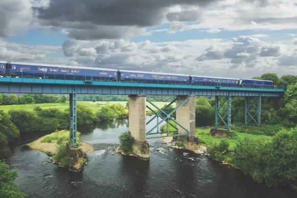Belmond Grand Hibernian train exterior