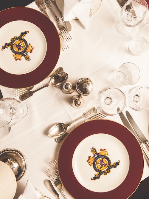 Belmond Royal Scotsman cutlery dining