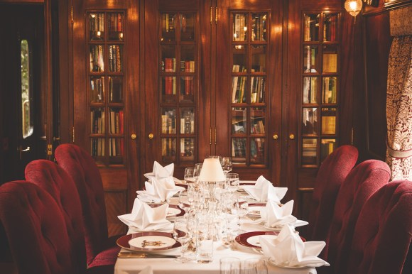 Belmond Royal Scotsman restaurant dining