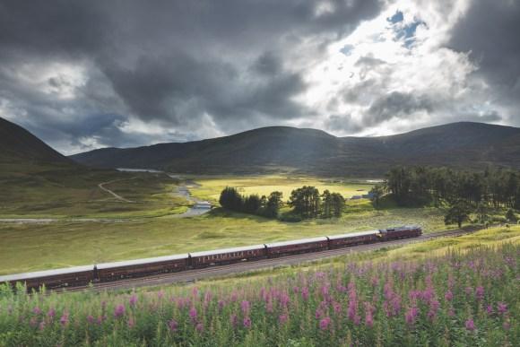 Belmond Royal Scotsman scottish train