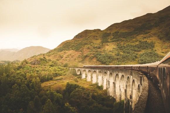 Belmond Royal Scotsman viaduct