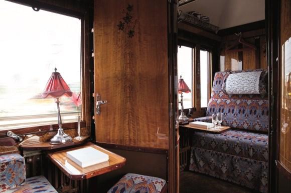 Belmond Venice Simplon Orient-Express train seating