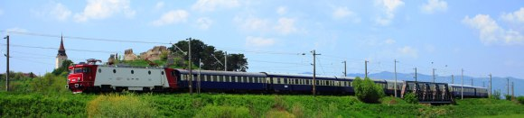 Golden eagle danube express train route