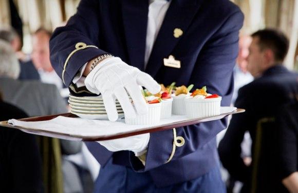 Golden eagle danube express train dining
