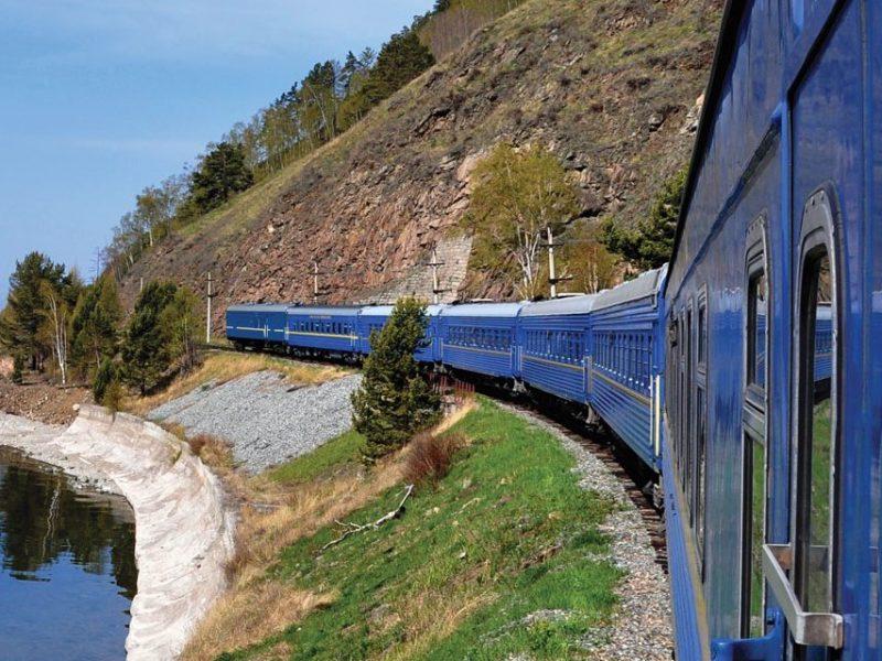Golden Eagle trans-siberian express railway train route