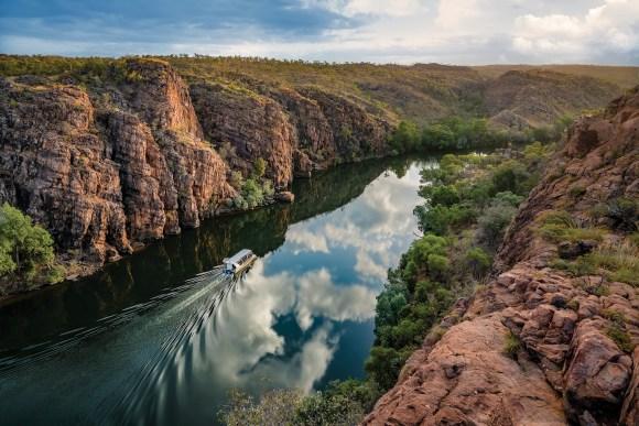 The Ghan train Australia Katherine gorge