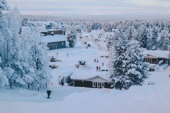 Helsinki to Rovaniemi train