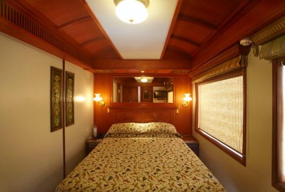 Maharajas Express train India double room