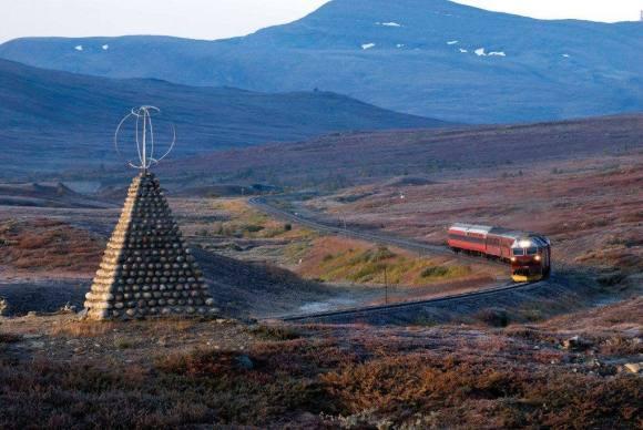 nordland line train norway