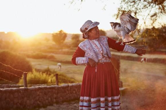 peru local woman