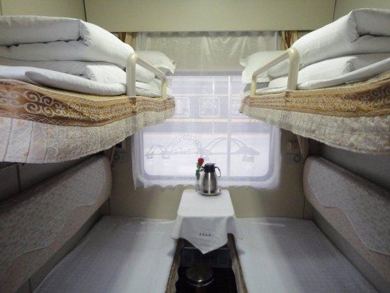 Qinghai-Tibet soft sleeper cabin