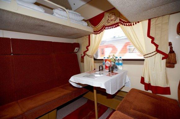 red arrow train russia 2nd class