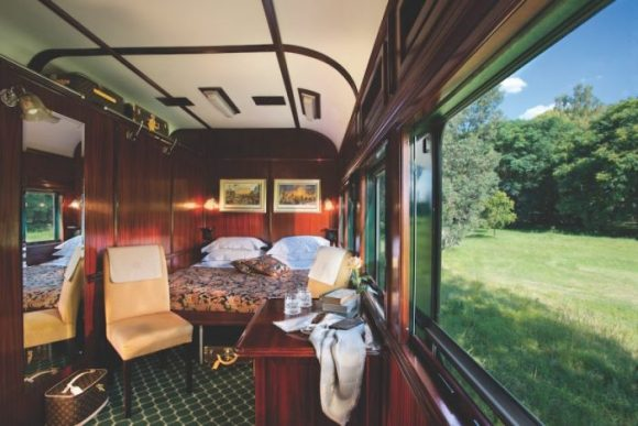 Rovos Rail Pride of Africa train cabin