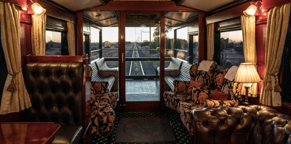 Rovos Rail Pride of Africa train review