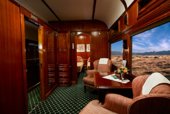 Rovos Rail pride of Africa suite