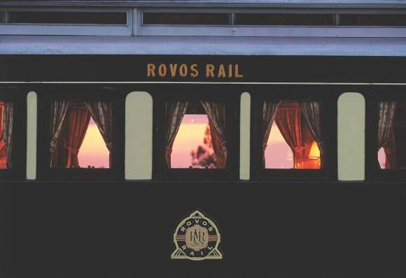 Rovos Rail Pride of Africa train exterior