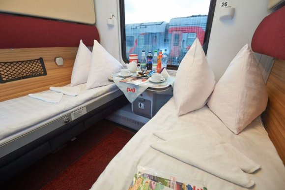 Russian railways moscow to Nice cabins