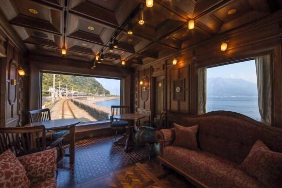Seven Stars in Kyushu train Japan observation