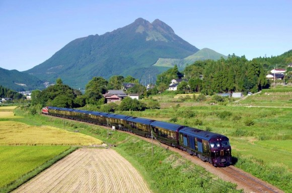 Seven Stars in Kyushu train Japan