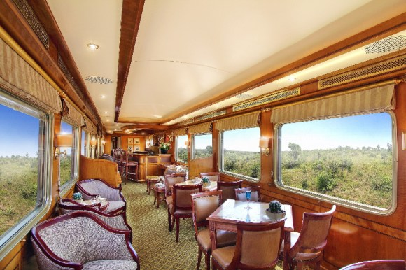 The Blue Train South Africa non smoking lounge