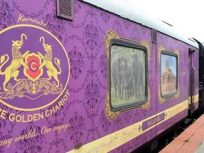 The Golden Chariot India train