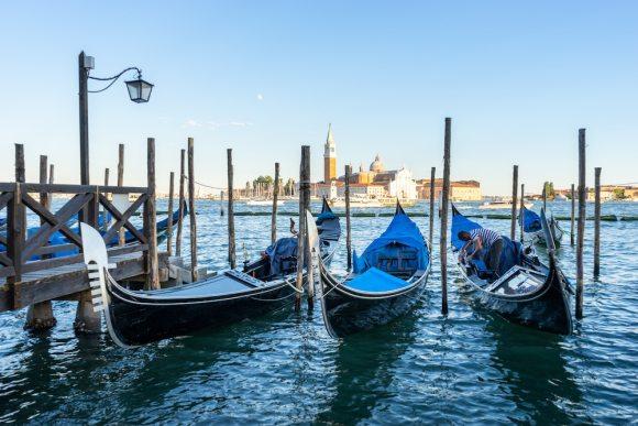 Venice lagoon italy