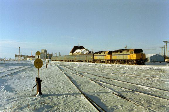 Winnipeg Churchill train