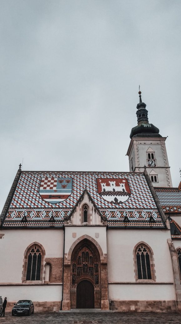 Zagreb church croatia