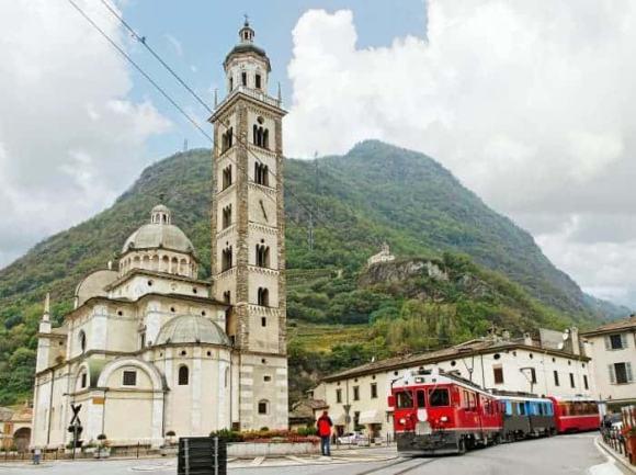 Bernina Express tirano italy