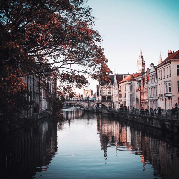 ghent river belgium