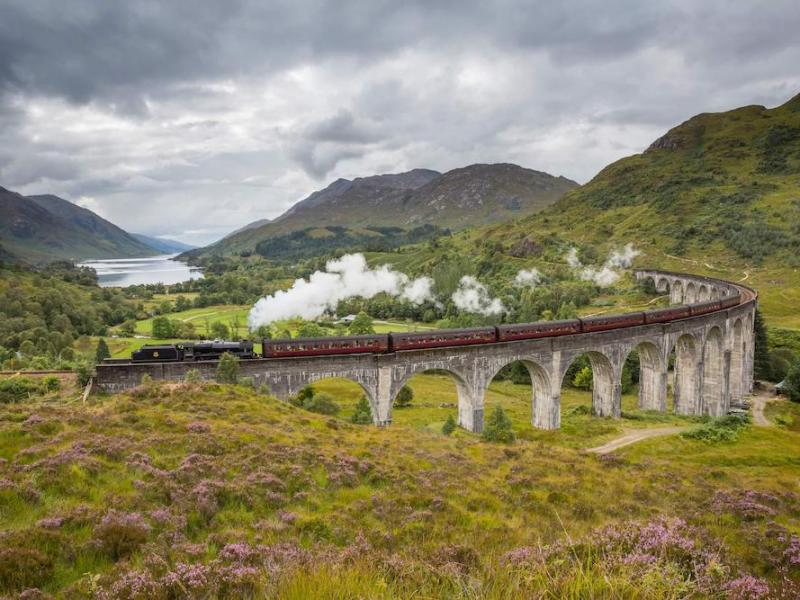 glasgow to mallaig train