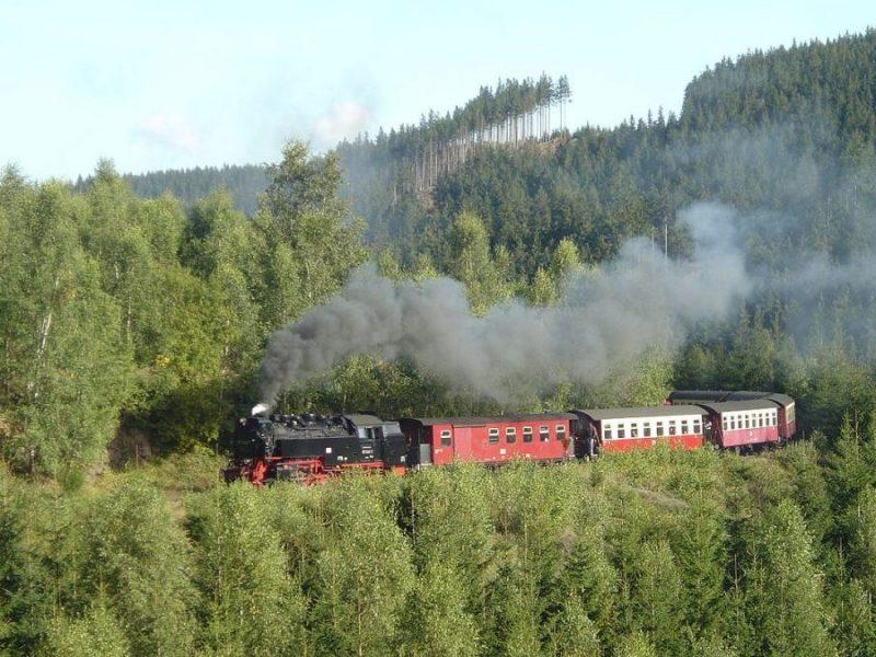 Harz railway train