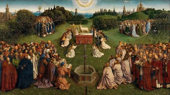 Hubert_van_Eyck painting Ghent