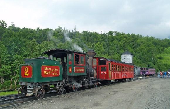 mount washington cog railway train