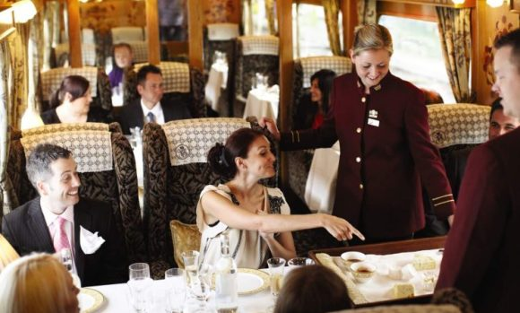 northern belle train dining