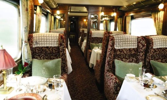 northern belle train dining car