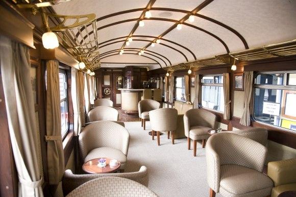 Perurail Lake titicaca train interiors