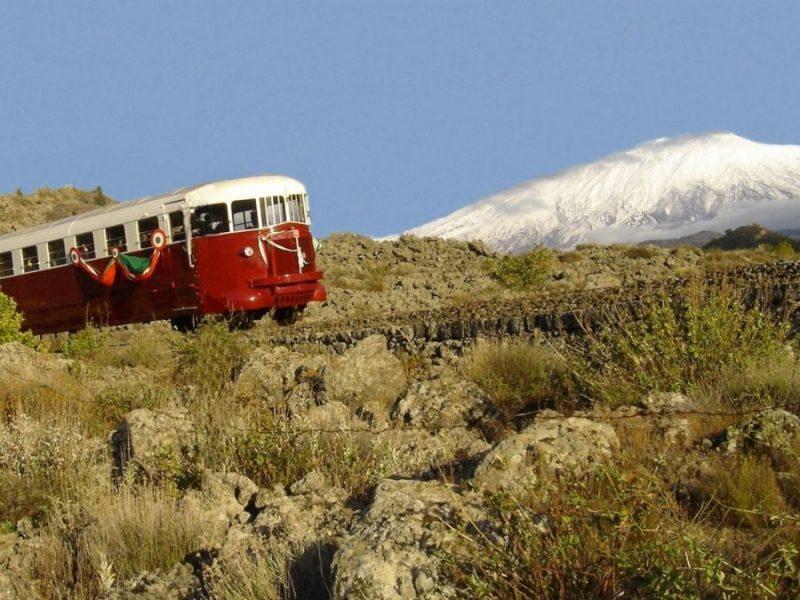 The Circumetnea Train Sicily
