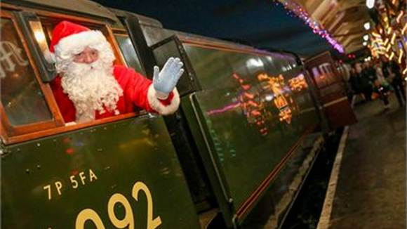 east Lancashire Railway christmas train
