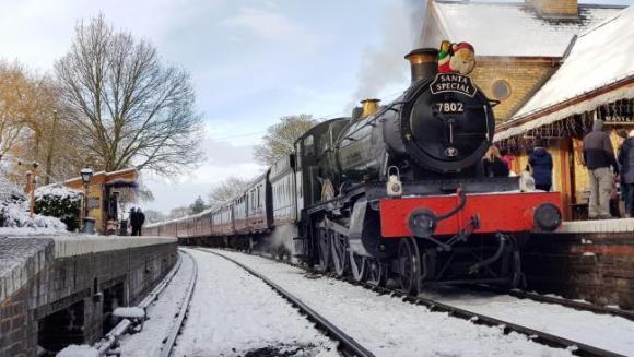 christmas train Severn Valley